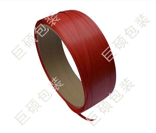 红色pet塑钢打包带